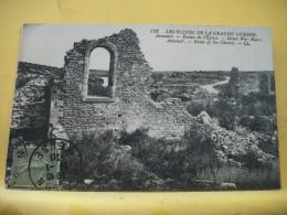 B1 5678 - 55 LES RUINES DE LA GRANDE GUERRE - AVOCOURT - RUINES DE L'EGLISE - 1921 - Francia