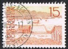 Liechtenstein SG563 1972 Definitive 15r Good/fine Used - Liechtenstein