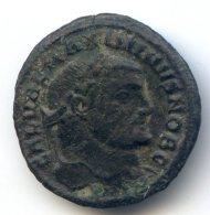 Quart De Follis De Maximin II Daja - 6. La Tetrarchia E Costantino I Il Grande (284 / 307)