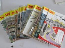 Lot De 18 Livrets SHELL MADAME   Numéro 1 à 18 - Vieux Papiers