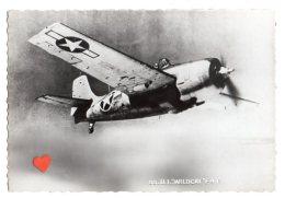 """09103-LE-AVIONS-U.S. Grumann """" WILDCAT """" F 4 F-Chasseur à Long Rayon D'action Embarqué-Env 11m60.Long. 8 M70-4 Mitr.de - 1946-....: Moderne"""