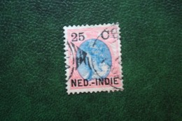 Hulpuitgifte 25 Ct Overprint NVPH 35 1900 Gestempeld / Used NEDERLAND INDIE / DUTCH INDIES - Niederländisch-Indien