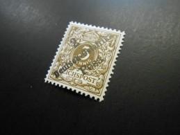 D.R.Mi 6a  2Pa.3Pf*  Deutsche Kolonien ( Deutsch-Ostafrika ) 1896 - Colony: German East Africa