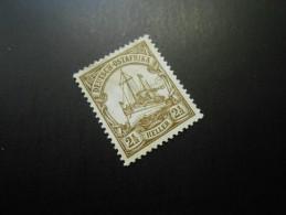 D.R.Mi 30 Ll   2 1/2H(*)  Deutsche Kolonien ( Deutsch-Ostafrika ) 1919 - Colony: German East Africa