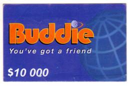 ZIMBABWE PREPAYEE 10 000$ BUDDIE ECONET Année 2007 - Zimbabwe