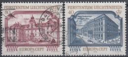 Liechtenstein 1978 Nº 639/40 Usado - Liechtenstein