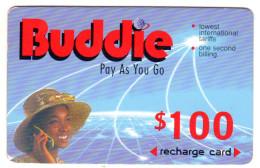 ZIMBABWE RECHARGE 100$ BUDDIE ECONET Année 1999 - Zimbabwe