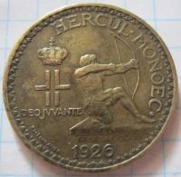 Monaco 2 Francs 1926 - 1922-1949 Louis II