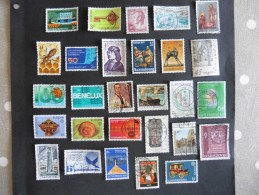 Luxembourg :28 Timbres Oblitérés - Luxembourg
