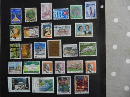 Luxembourg :27 Timbres Oblitérés - Luxembourg