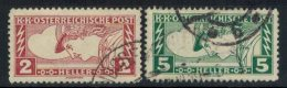 ÖSTERREICH 1917 - MiNr: 219-220A  Used - 1850-1918 Empire