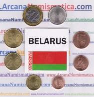 BIELORRUSIA   /  BELARUS   Set  8 Monedas / COINS  2.009  2009  SC/UNCIRCULATED   T-DL-11.862 - Belarús