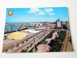 Carte Postale Ancienne : CADIZ : Avenida Ramon De Carranza Y Muelles - Cádiz