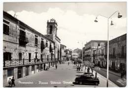 MAZZARINO - PIAZZA VITTORIO VENETO - CALTANISSETTA - 1963 - Caltanissetta
