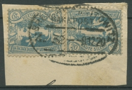 Oberschlesien Bahnpost Breslau-Kattowitz Z32 18 (2) Auf Briefstück (OS1579) - Germany