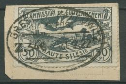 Oberschlesien Bahnpost Breslau-Kattowitz Z346 22 Auf Briefstück (OS1596) - Germany