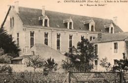 """CHATELAILLON - L'aube De La Société Du """" Rayon De Soleil """" - Châtelaillon-Plage"""