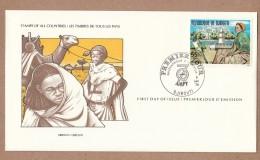Djibouti  FDC 1978  International Society Of Postmasters -Philexafrique II Exhibition - Djibouti (1977-...)