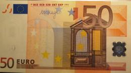 VF BILHETE DE 50 EUROS ESPANHA M057 C4  NOVA UNC - EURO