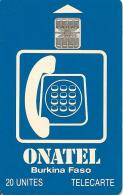 CARTE -PUCE-SC7-ONATEL-20U-BURKINA FASO-NANAN-ONETEL-TBE- - Burkina Faso