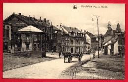 Houffalize. Place Du Marché.  Hôtel Des Postes. Kiosque. Café Du Kiosque. - Houffalize