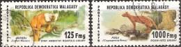 Madagascar République 1979 - Faune Locale - Oblitérés - Scott  595-596 - Madagascar (1960-...)