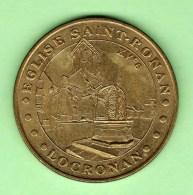 MONNAIE DE PARIS 2003 *** EGLISE SAINT-ROMAN - LOCRONAN *** - Monnaie De Paris