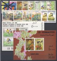 Somalia 1986 Annata Quasi Completa / Almost Complete Year Set **/MNH VF - Somalia (1960-...)