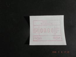 TEST-NULDRUK. GOMDRUK.  Groot Formaat N/F. Oostende. E Papier.  R. - Frankeervignetten