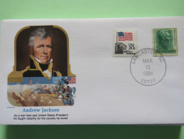 USA 1984 Special Cover - War Heroes - Andrew Jackson - Etats-Unis
