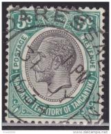 Tanganyika, 1927-31, KGV, 5c, Scott#29, Used - Kenya, Uganda & Tanganyika