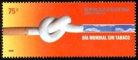 ! ARGENTINE / ARGENTINA: Mi #3062 Yv #2605 No Smoking Day / Journée Sans Tabac (2006) MNH / Neufs *** - Argentine