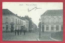 Lokeren - Statieplaats / Place De La Station  - 1908 ( Voir Verso ) - Lokeren