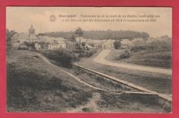 Rossignol- Route De Les Bulles... Détruite Par Les Allemands En 1914 Et Reconstruite En 1921 ( Voir Verso ) - Tintigny