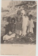 EGYPTE - UNE FAMILLE BICHARINE