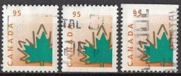 1686 Canada 1998 MAPLE LEAF Viaggiato Used - Vegetazione