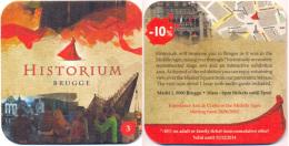 #D109-073 Viltje Over Brugge - Bierviltjes