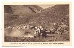 CPSM Missions Sud Afrique Lesotho Basutoland Campement Montagne édit Missionnaires Oblats Série III Non écrite - Lesotho