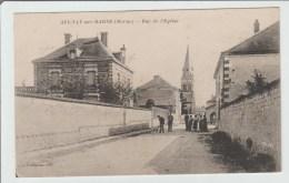 AULNAY SUR MARNE (51) - RUE DE L'EGLISE - France