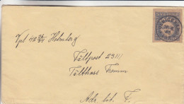 Suède - Lettre De 1940 - Oblitération Ulridehamo  ? - Svezia