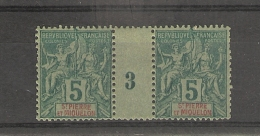 St Pierre Et Miquelon _ Millésimes - 5 C Groupe - N°63 _ ( 1893) - St.Pierre & Miquelon