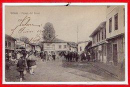 ALBANIE --  VALONA --  Plazza Del Bazar - Albanie