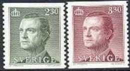 Zweden 1989 2.30+3.30kr Gustav III PF-MNH - Sweden