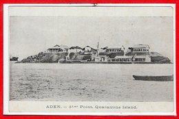 ASIE - YEMEN -- - St Er Point Quarantine - Yémen