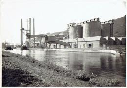 """HACCOURT - PHOTO De 1927 (23 X 16 Cm) - Cimenterie De Haccourt : """"Ciments Liegeois"""" - Visé"""