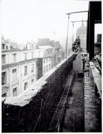 LIEGE - PHOTO De 1934 (23 X 17.5 Cm) - Construction De La Banque Générale De Liège Et De Huy - Liege