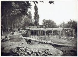 LIEGE - PHOTO De 1929 (23 X 17 Cm) - Construction D'une Salle De Fêtes Au Jardin D'acclimatation - Liege