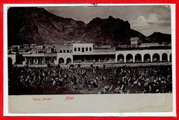 ASIE - YEMEN -- - ADEN - Camel Market - Yémen