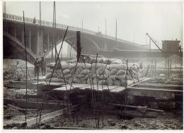 MERKSEM - FOTOKAART Februari 1914 (23 X 17 CM) -Suikerrafinaderij Gebroeders GHYS - Antwerpen
