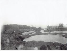 NEERHAREREN - FOTOKAART 09/11/1933 (22.5 X 17 Cm) - Verdiepen Van Het Albertkanaal - Baggeren - Lanaken